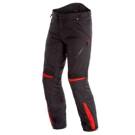Dainese pánské kalhoty TEMPEST 2 D-DRY vel.46 černá/červená, textilní