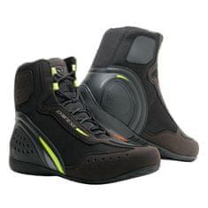 Dainese kotníkové moto boty MOTORSHOE D1 AIR černá/fluo žlutá/antracitová