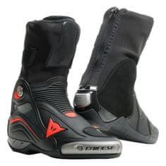 Dainese okruhové/Sportovní moto boty AXIAL D1 AIR černá/fluo červená