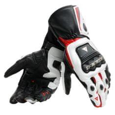 Dainese pánske rukavice na motorku STEEL-PRO čierna/biela/červená