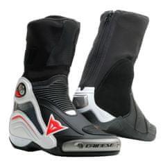 Dainese okruhové/Sportovní moto boty AXIAL D1 černá/bílá/červená
