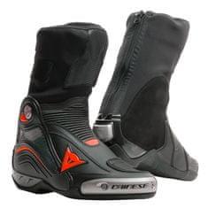 Dainese okruhové/Športové moto topánky AXIAL D1 čierna/fluo červená