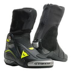 Dainese okruhové/Sportovní moto boty AXIAL D1 černá/fluo žlutá