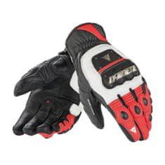 Dainese pánské motocyklové rukavice 4 STROKE EVO bílá/červená/černá