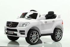 Beneo Elektrické autíčko Mercedes-Benz ML350, Plastové sedadlo, odpružené nápravy, USB/SD Vstup