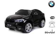 Beneo Elektrické autíčko BMW X6 M, 2 místní, 2 x 120W motor, 12V, elektrická brzda, 2,4 GHz dálkové ovl