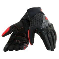 Dainese pánské moto rukavice X-MOTO černá/fluo červená