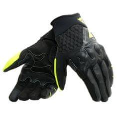 Dainese pánské moto rukavice X-MOTO černá/fluo žlutá