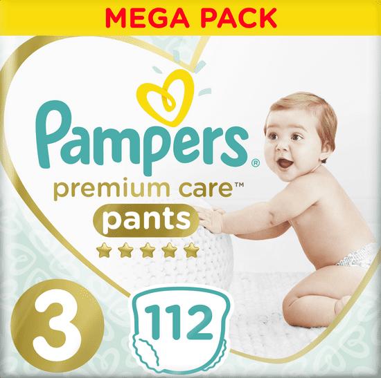 Pampers Premium Care Pants 3 (6-11 kg) 112 ks