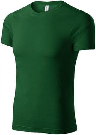 Piccolio Láhvovězelené tričko lehké s krátkým rukávem
