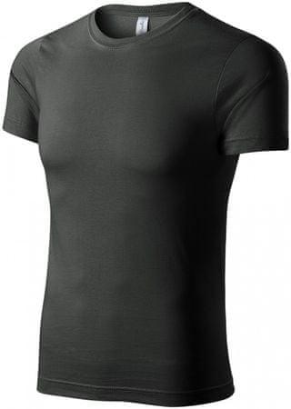 Piccolio Tmavěbridlicové tričko lehké s krátkým rukávem