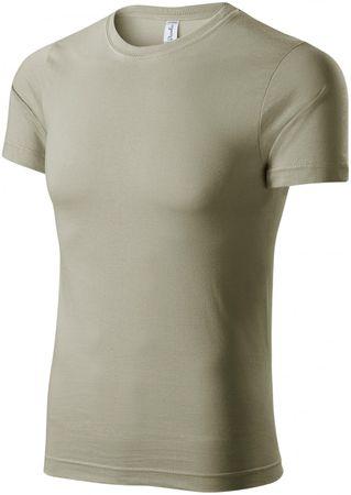Piccolio Světlé khaki tričko lehké s krátkým rukávem