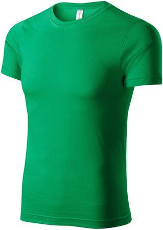 Piccolio Trávově zelené tričko lehké s krátkým rukávem