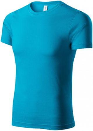 Piccolio Tyrkysové tričko lehké s krátkým rukávem