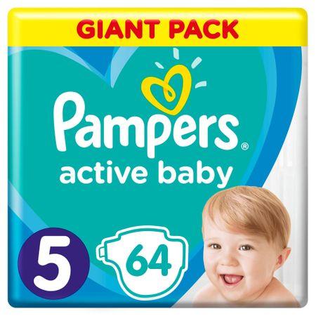 Pampers Active Baby 5 Junior (11-16 kg) pelenka 64 db