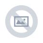 1 - Troli Zapestnica iz črne vrvice s angelskim krilom v jekleni barvi