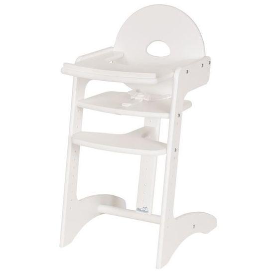 Geuther Filou Dětská jídelní židlička, bílá, do 85 kg