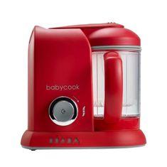 Béaba Babycook Solo 4v1 Parní vařič s mixérem, červený