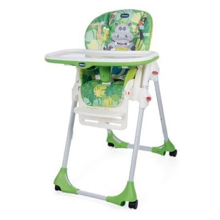 Chicco Polly Easy Jídelní židlička, zelená, do 15 kg