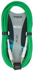 Bespeco DRAG500 GR Nástrojový kábel