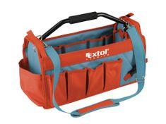 Extol Premium Taška na nářadí s kovovou rukojetí, 49x23x28cm, 31 kapes, nylon