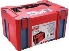 Extol Premium Box plastový, L velikost, rozměr 443x310x248mm, ABS