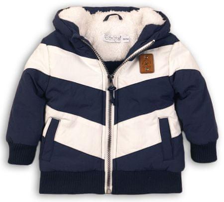Dirkje jakna za dječake, bijelo-plava, 68