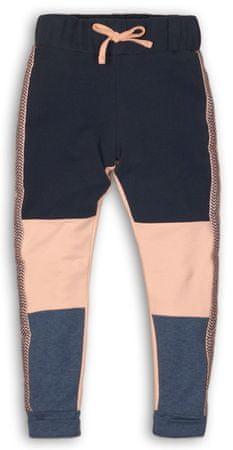 Dirkje dievčenské tepláky 110 ružové/modré