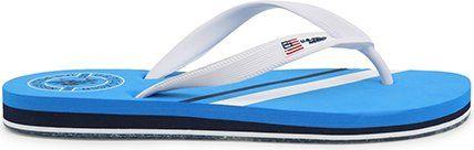U.S. Polo Assn. pánské žabky modrá 40