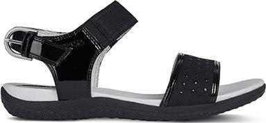 Geox ženski sandali, črni, 39