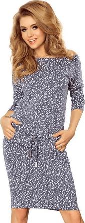 Numoco dámské šaty 13-83 vícebarevná M