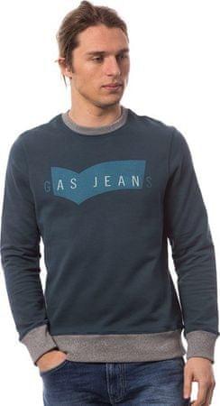 GAS bluza męska L niebieski