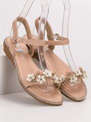 Stylomat Sandálky s květy