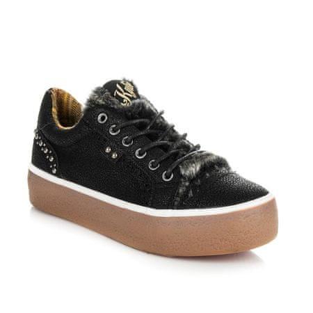 Női tornacipő 29455, fekete, 37