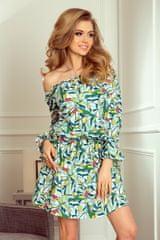 Numoco Dámské šaty 198-4 + Ponožky Gatta Calzino Strech