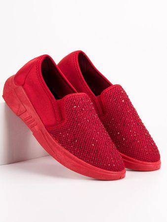 Stylomat Textilní boty s krystalkami, velikost 36.