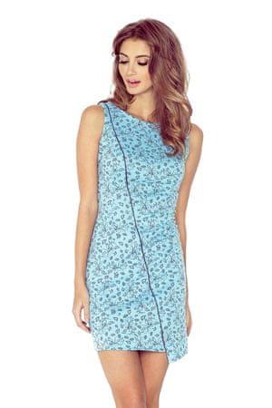 Morimia Sukienka damska 004-5, niebieski, XS