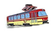 Dopravní spony Kravatová spona cvičná tramvaj ČKD Tatra T3