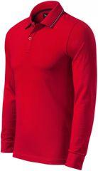 Malfini Premium Pánská kontrastní polokošile s dlouhými rukávy