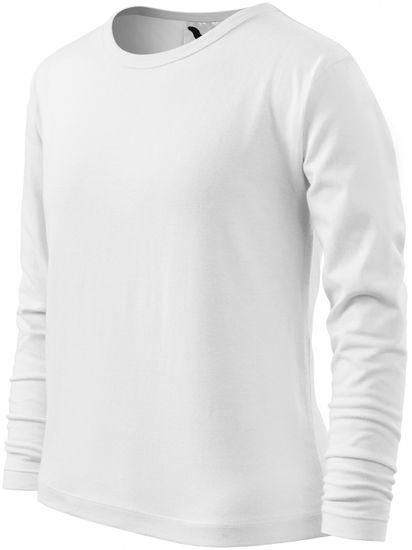 Malfini Biele detské tričko s dlhým rukávom