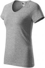 Malfini Dámske tričko s V-výstrihom