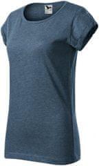 Malfini Dámske tričko s vyhrnutými rukávmi