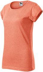 Malfini Dámské triko s vyhrnutými rukávy