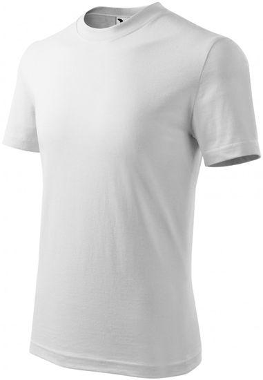 Malfini Biele detské tričko klasické