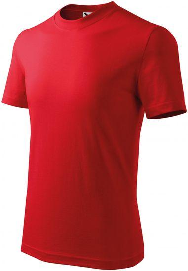 Malfini Červené detské tričko klasické