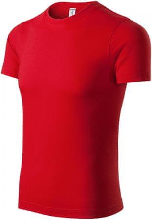 Piccolio Červené tričko vyšší gramáže
