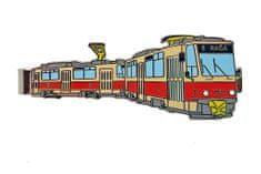 Dopravní spony Kravatová spona tramvaj ČKD Tatra T6A5 Bratislava
