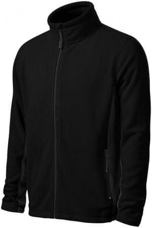 Malfini Černá pánská fleecová bunda