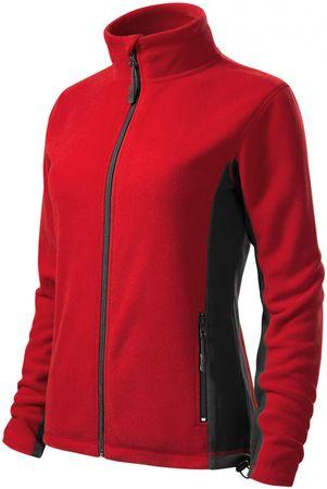 Malfini Červená dámská fleecová bunda