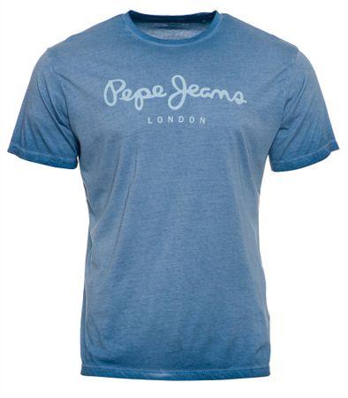 Pepe Jeans t-shirt męski West Sir XL jasnoniebieski